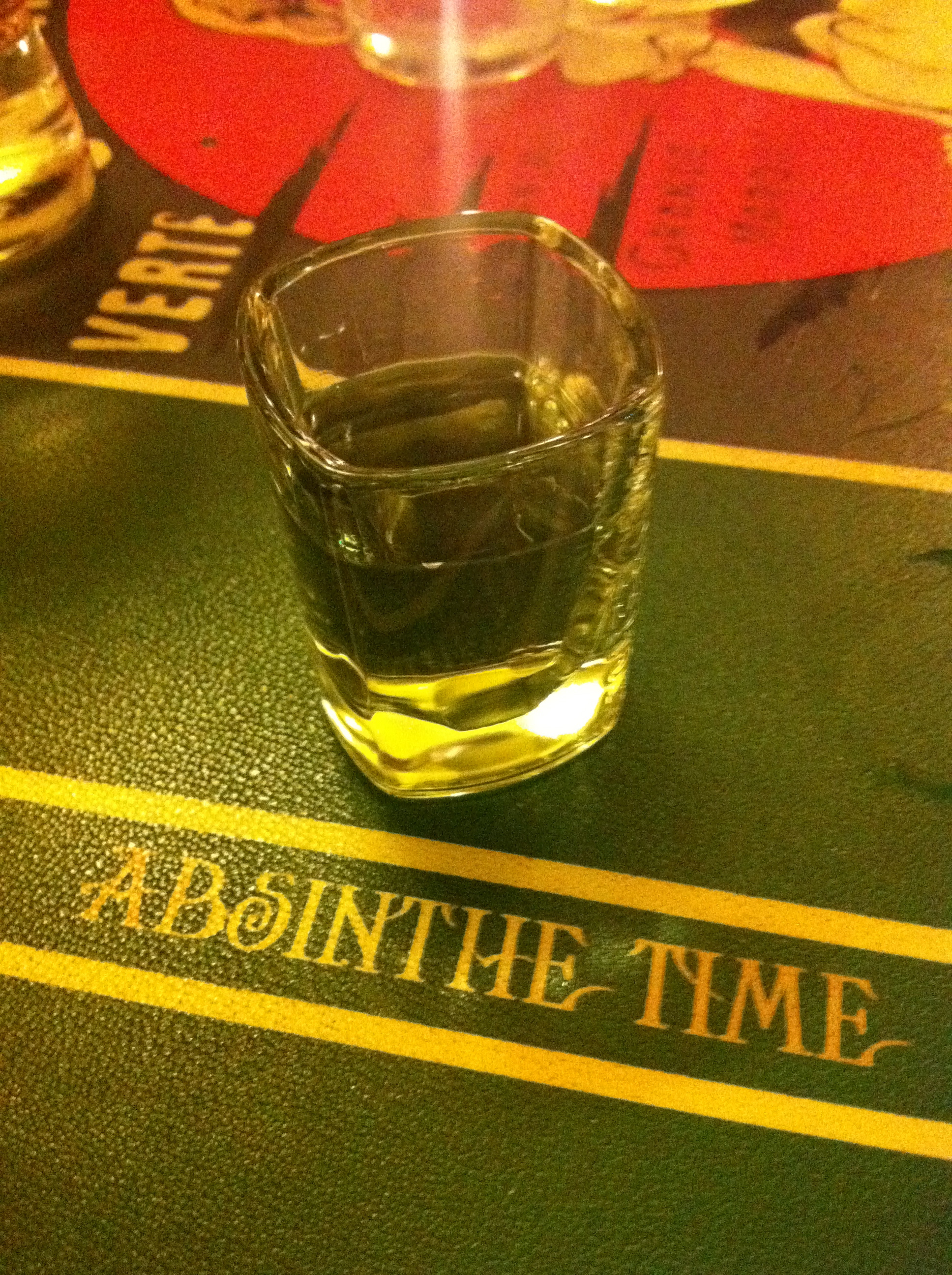 Absinthe Time, Prague