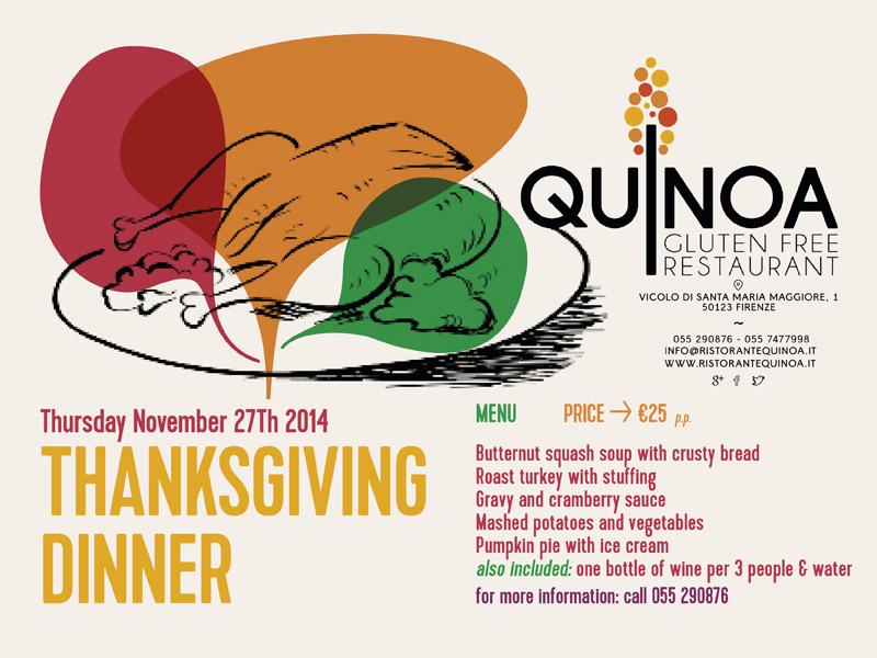 Quinoa Menu